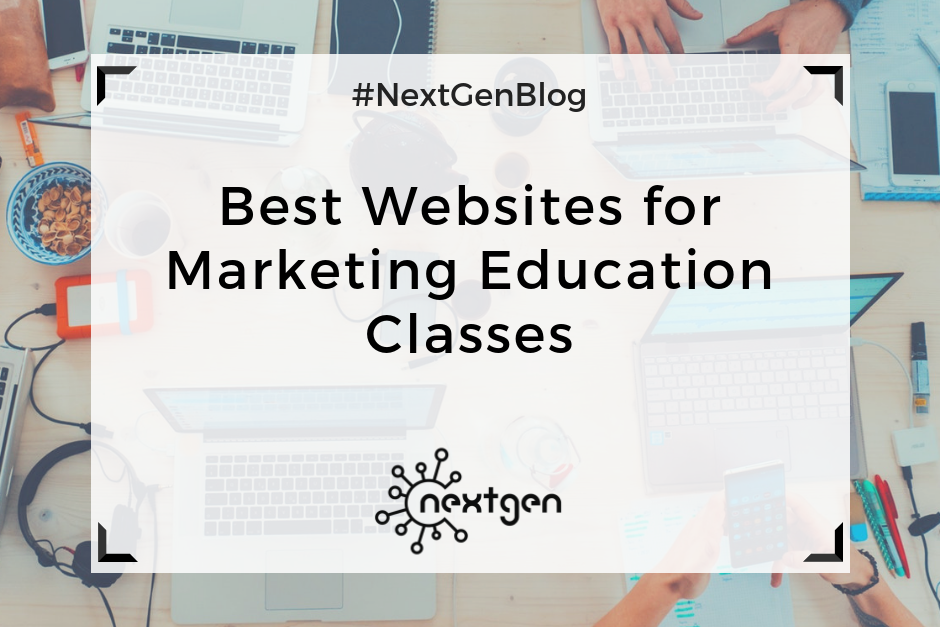 Best Websites for Marketing Education Classes